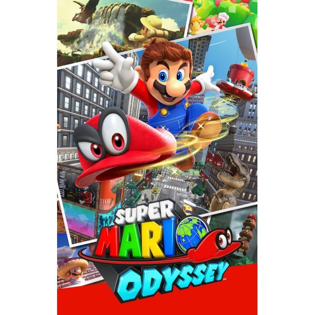 Super Mario Odyssey: Official Guide (Paperback)