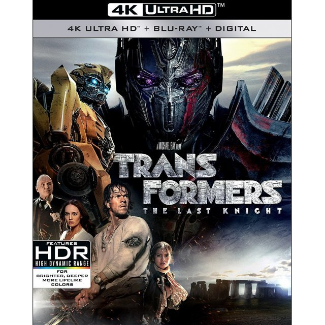 Transformers: The Last Knight [4K Ultra HD Blu-ray]
