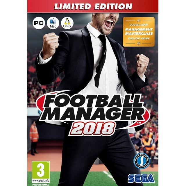 Football Manager 2018 [Limited Edition] (DVD-ROM)