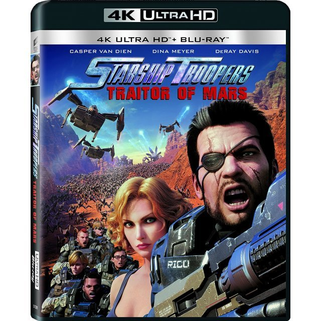 Starship Troopers: Traitors Of Mars [4K Ultra HD Blu-ray]