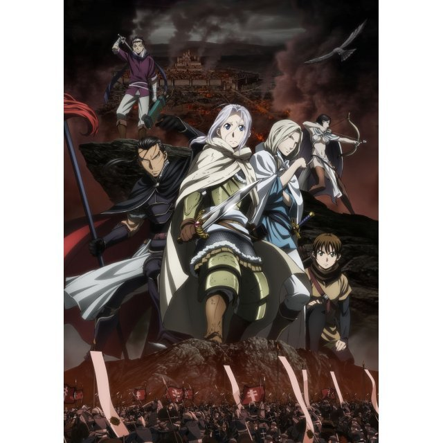 The Heroic Legend Of Arslan (Arslan Senki) Dvd Box - Oto Dakkan Ketsui Hen