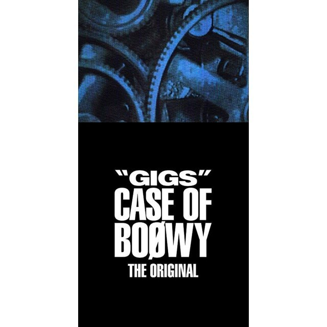 Gigs Case Of Boowy -The Original- [Limited Edition]