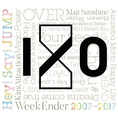 Hey! Say! Jump 2007-2017 I/O [2CD+DVD Limited Edition Type 1]