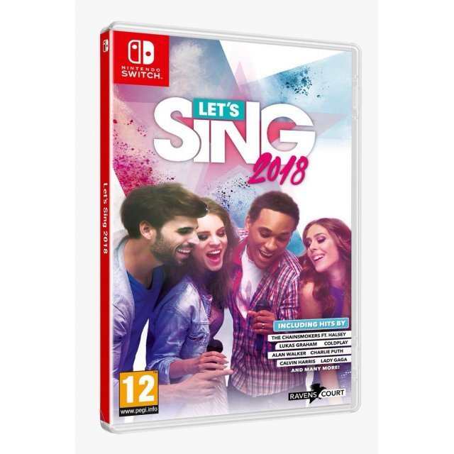 Let's Sing 2018 (with microphone)