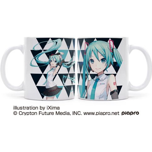 Hatsune Miku V4X Full Color Mug Cup