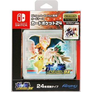 Pokken Tournament DX Card Pocket 24 for Nintendo Switch