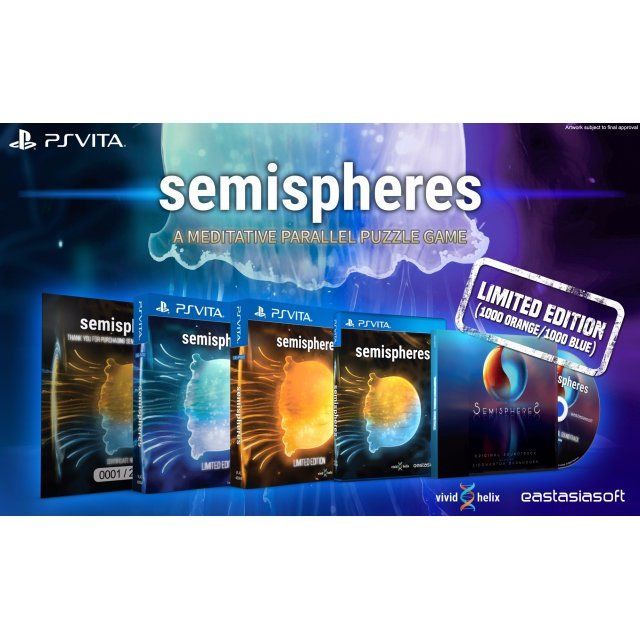 Semispheres [Orange Cover Limited Edition] - Play-Asia.com Exclusive