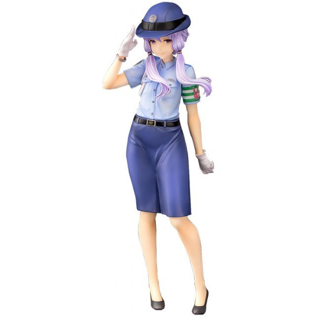 Vocaloid4 1/8 Scale Resin Cast Pre-Painted Figure: Yuzuki Yukari Police Ver.