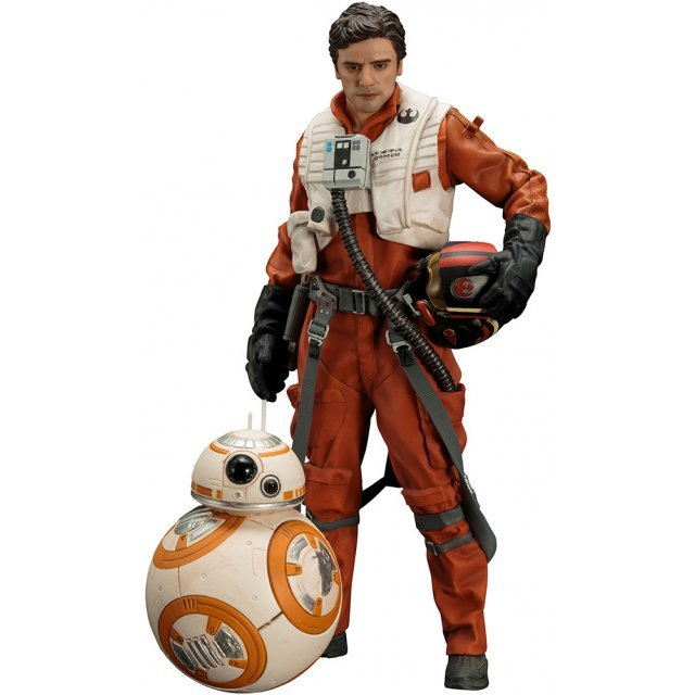 ARTFX+ Star Wars The Force Awakens 1/10 Scale Pre-Painted Figure: Poe Dameron & BB-8 2 Pack The Force Awakens Ver.