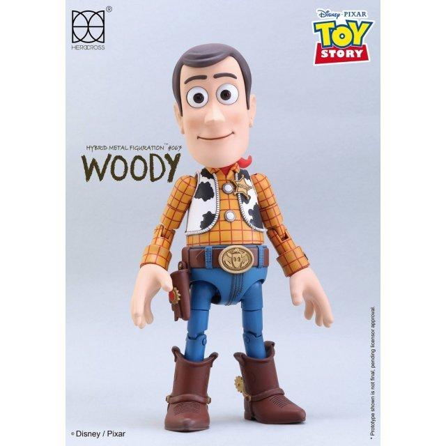Toy Story Hybrid Metal Figuration: Woody Normal Ver.