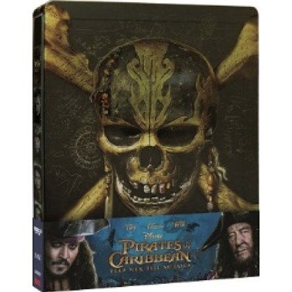 Pirates of the Caribbean: Dead Men Tell No Tales (4K UHD+BD) (2-Disc) (Steelbook)