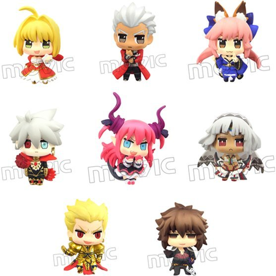 Color Collection Fate/Extella (Set of 8 pieces)