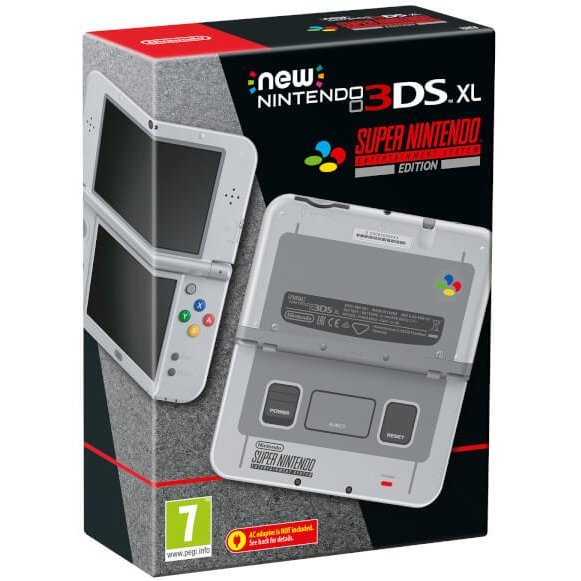 New Nintendo 3DS XL [Super Nintendo Entertainment System Edition]