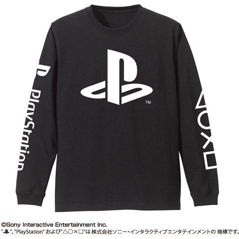 PlayStation Long Sleeve T-shirt Black (S Size)
