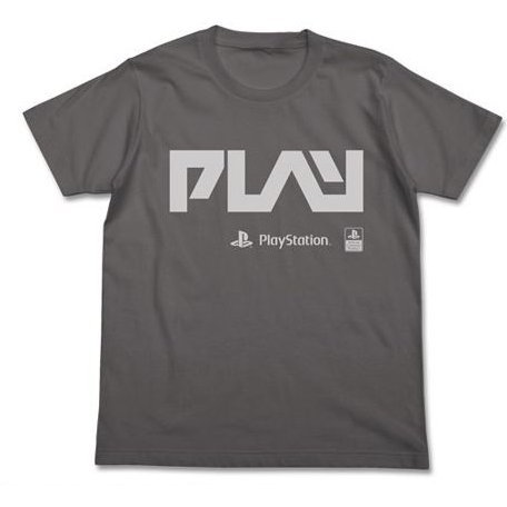 PlayStation - Play T-shirt Medium Gray (L Size)