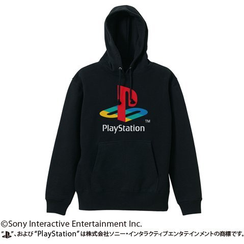 PlayStation Pullover Hoodie 1st Gen. Black (L Size)