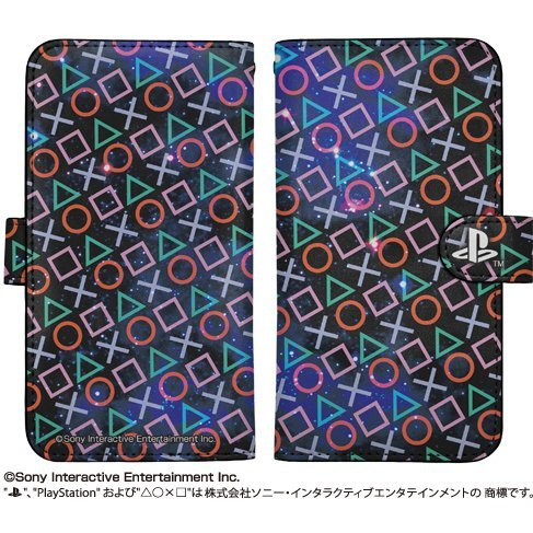 PlayStation Shapes Book Style Smartphone Case