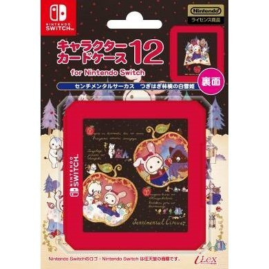 Snow White of the Tearing Apple Card Case 12 for Nintendo Switch