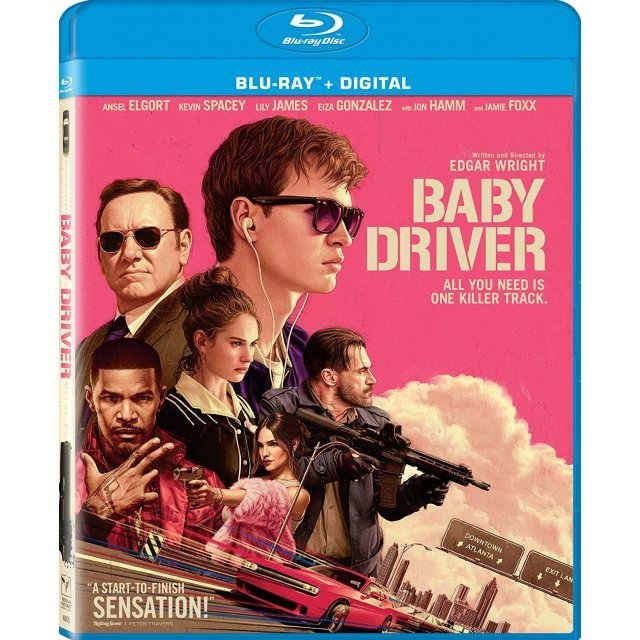 Baby Driver [Blu-ray+Digital]