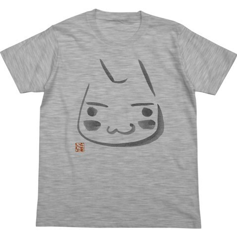 Dokodemo Issho - Toro Japanese Pattern T-shirt Heather Gray (L Size)