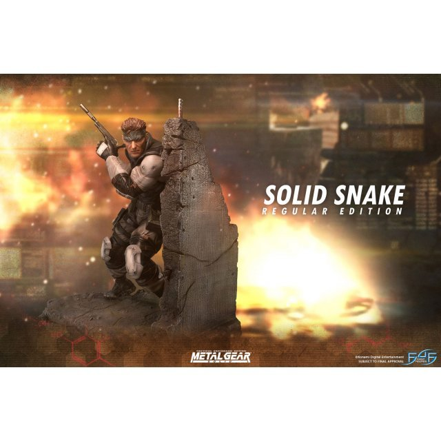 Metal Gear Solid Statue: Solid Snake