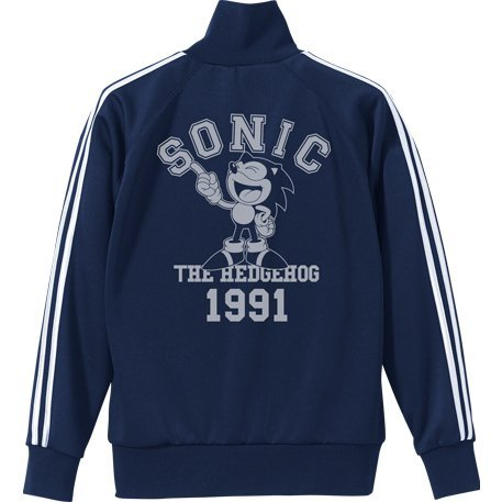 Sonic The Hedgehog - Classic Sonic Jersey Navy x White (L Size)