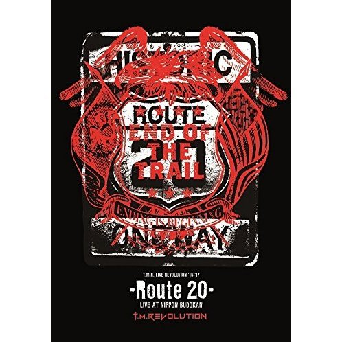 T.M.R. Live Revolution '16-'17 - Route 20 - Live At Nippon Budokan [2DVD+CD Limited Edition]