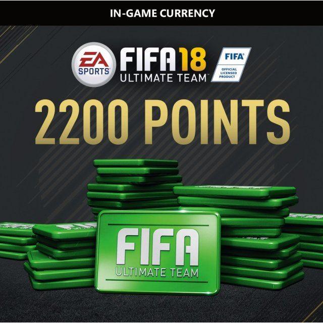2200 FIFA 18 Points Pack (Origin)