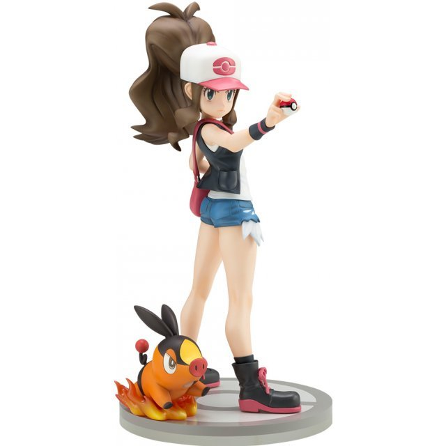 ARTFX J Pokemon Series 1/8 Scale Pre-Painted Figure: Hilda with Tepig (Re-run)