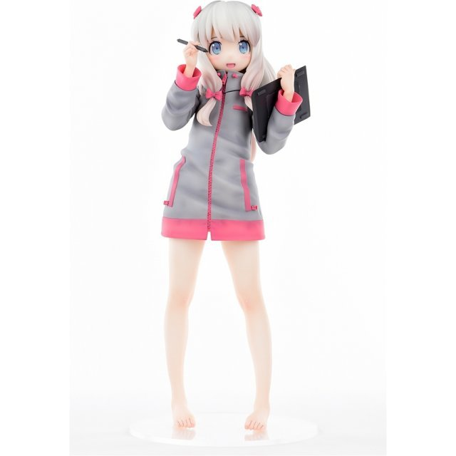 Eromanga Sensei 1/6 Scale Pre-Painted Figure: Sagiri Izumi The First Volume Cover Illust Ver. :Smiling Face: