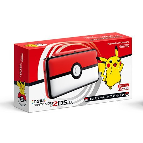 New Nintendo 2DS LL [Monster Ball Edition]