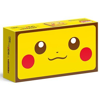 New Nintendo 2DS LL [Pikachu Edition]