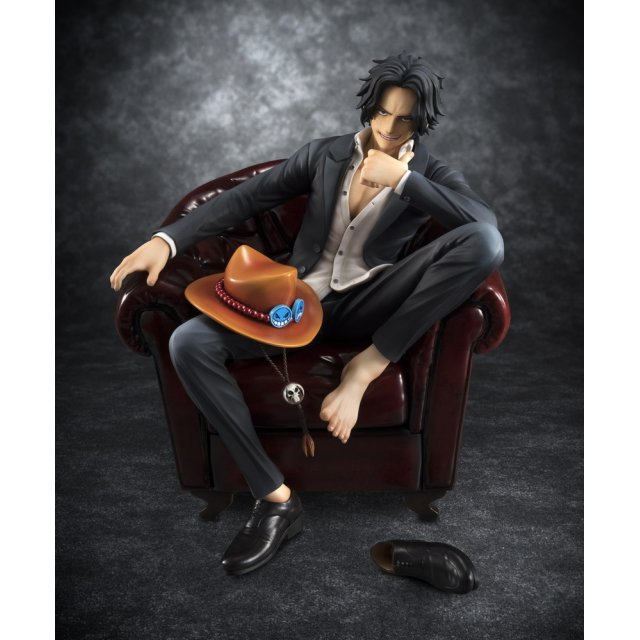 One Piece Excellent Model Portrait of Pirates SOC 1/8 Scale Pre-Painted Figure: Portgas D. Ace