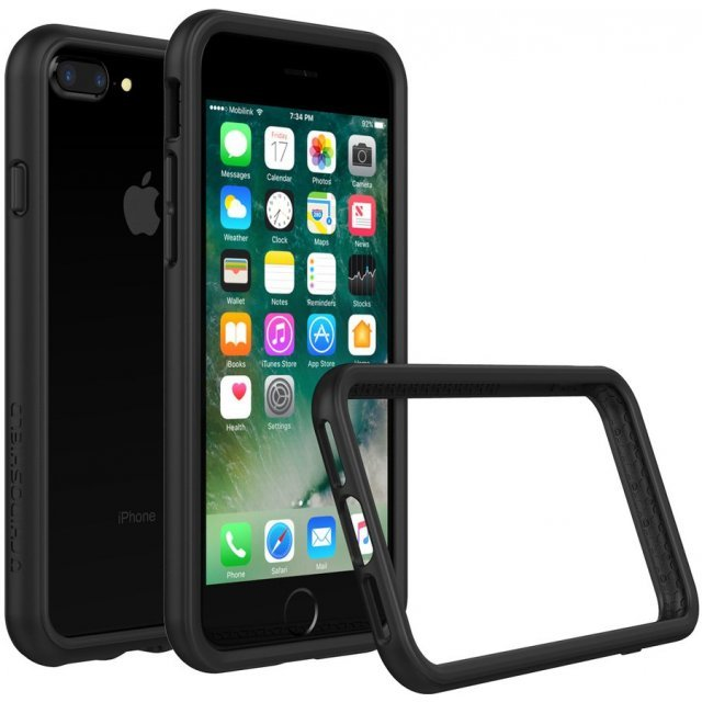 RhinoShield CrashGuard Bumper Case for iPhone 7 Plus (Black)