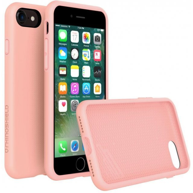 RhinoShield PlayProof Case for iPhone 7 (Peach Pink)
