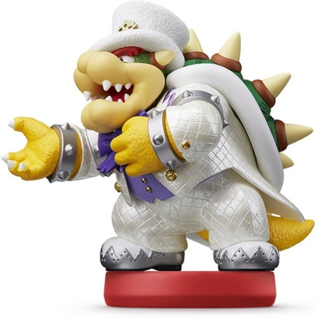 amiibo Super Mario Odyssey Series Figure (Bowser - Wedding Outfit)