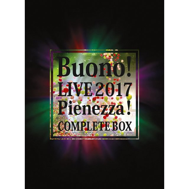 Buono Live 2017 - Pienezza [2Blu-ray+4CD Limited Edition]