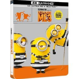 Despicable Me 3 [4K UHD+BD Steelbook Limited Edition]