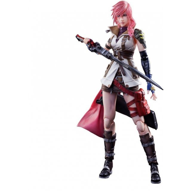 Dissidia Final Fantasy Play Arts Kai: Lightning