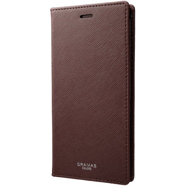 Gramas EURO Passione Book PU Leather Case for iPhone X (Wine)