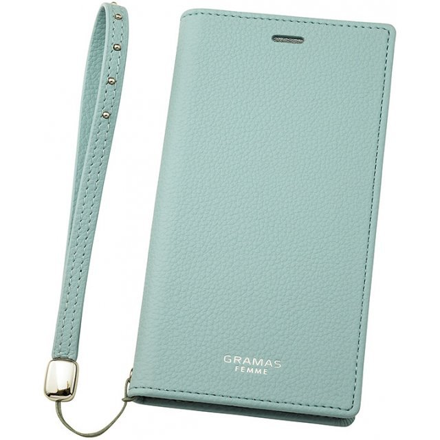 Gramas FEMME Colo Book PU Leather Case for iPhone X (Light Blue)