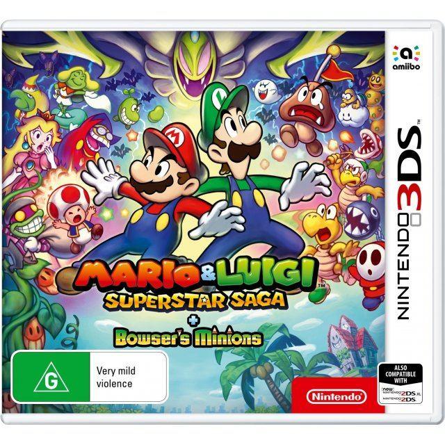 Mario Luigi Superstar Saga Bowser S Minions