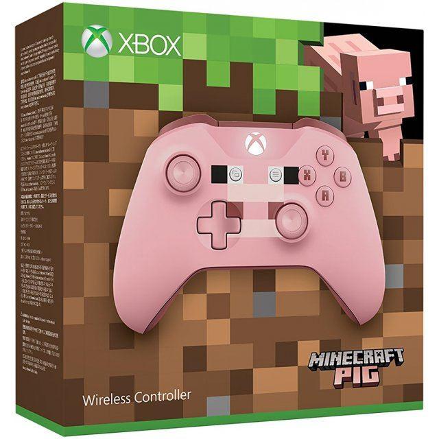 Xbox Wireless Controller (Minecraft Pig)