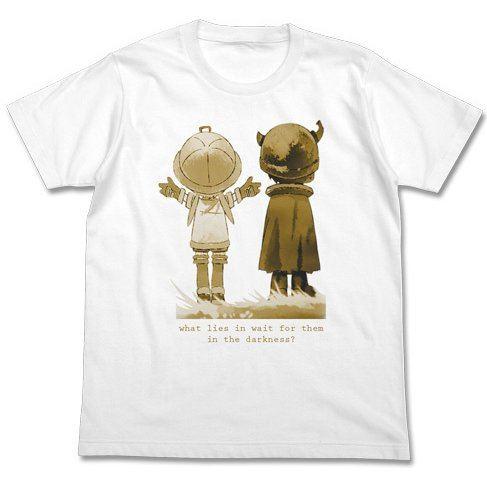 Made In Abyss - Naraku Wo Mezasumono T-shirt White (L Size)