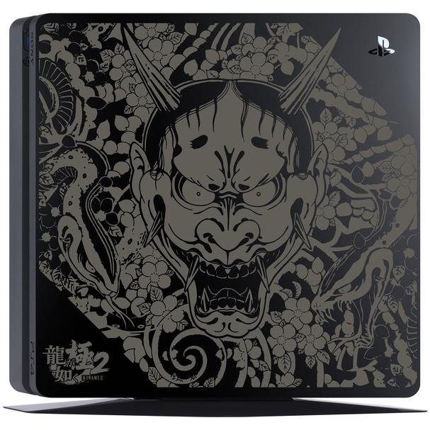 PlayStation 4 System 500GB HDD [Ryu ga Gotoku Kiwami 2 Edition] (Jet Black)