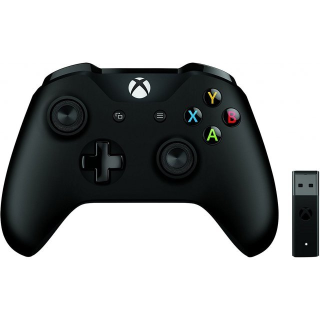 Xbox Controller + Wireless Adapter for Windows