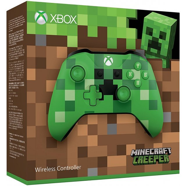 Xbox Wireless Controller (Minecraft Creeper)