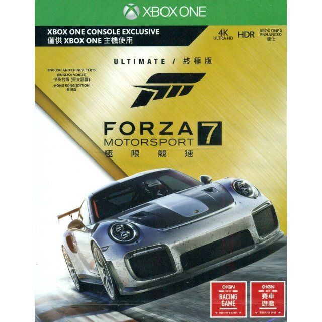 Forza Motorsport 7 [Ultimate Edition] (English & Chinese Subs)