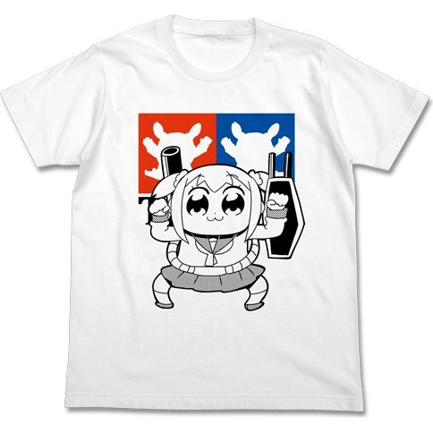 Pop Team Epic - Perfect Popuko T-shirt White (XL Size)