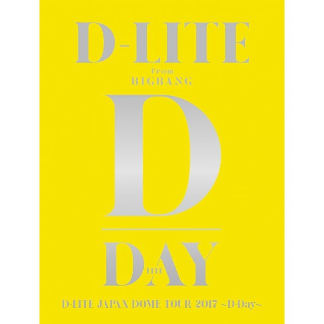 D-Lite Japan Dome Tour 2017 D-Day [2Blu-ray+2CD Limited Edition]